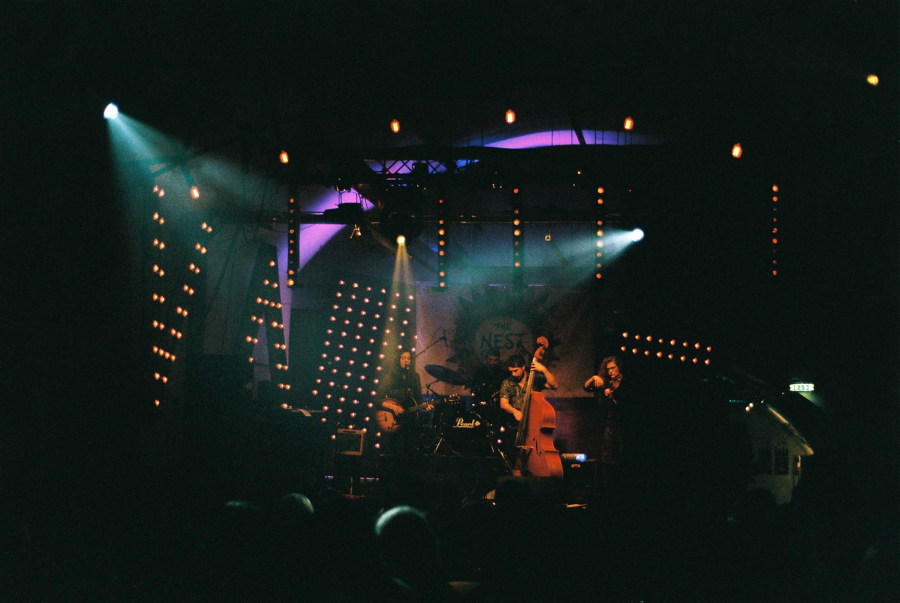 Nest Collective Stage at Vault Festival, London (© Maryam Khastoo)